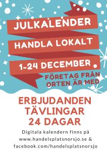 julkalender i Norsjö