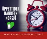 ÖPPETTIDER handeln i Norsjö